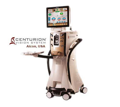 CENTURION® Vision System with OZil IP & Active Fluidics™ Technology - Alcon, USA