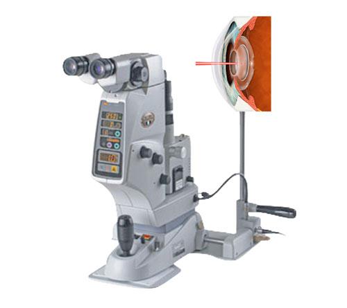 Ophthalmic YAG Laser System YC 1800 - Nidek, Japan